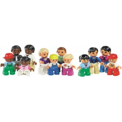 Rinkinys LEGO žmonės aplink pasaulį
