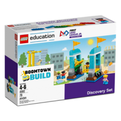 "Mokymo priemonė JrFLL 2019/2020  Discovery Edition   ""BOOMTOWN BUILD """