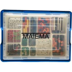 MATEMA® bazinis LEGO® kaladėlių matematikos rinkinys pradinukams